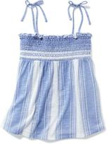 Old Navy Smocked Slub-Knit Cami for Girls