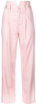 Fleur Du Mal V-waist trousers