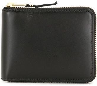Comme des Garcons Zip-Up Leather Wallet