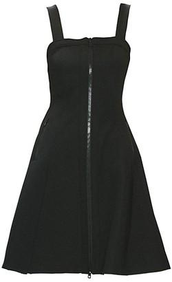 Toccin Scuba A-Line Dress