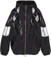 Giamba Hooded Windbreaker Jacket