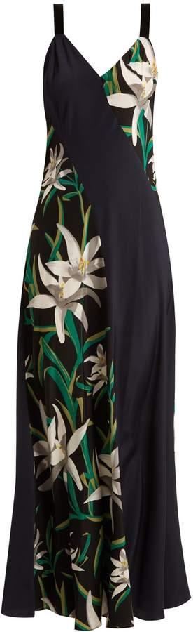 Diane von Furstenberg Harlow floral-print silk-crepe dress