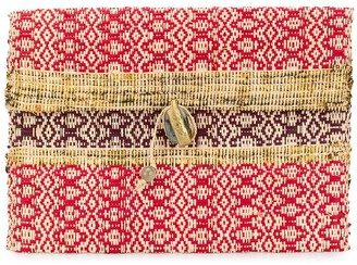 Forte Forte Large Woven Clutch Bag