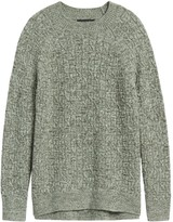 Banana Republic Marled Cable-Knit Sweater