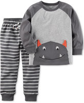 Carter's 2-Pc. Cotton Monster T-Shirt & Jogger Pants Set, Baby Boys (0-24 months)