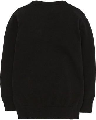 Very 2 Pack V Neck School Jumpers - Black