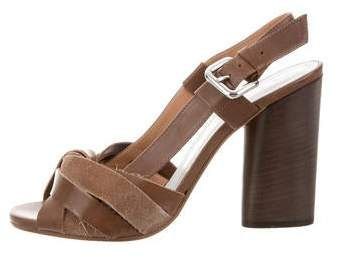 Maison Margiela Multistrap Slingback Sandals w/ Tags