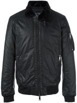 Armani Jeans zipped bomber jacket