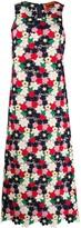 Colville floral crochet maxi dress
