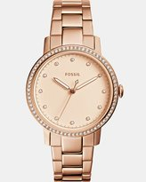 Fossil Neely Rose Gold -Tone Analogue Watch