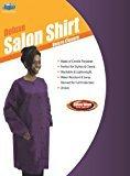 Dream Salon Ware Short Sleeve Salon Shirt - Purple
