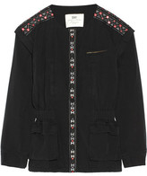 DAY Birger et Mikkelsen Monsoon Convertible Embroidered Washed-Cotton Jacket