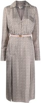 Fendi FF Karligraphy long-sleeved dress