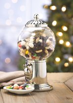 Plow & Hearth Globe Snack Dispenser with Shiny Globe Finial
