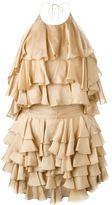 Balmain ruffle dresss
