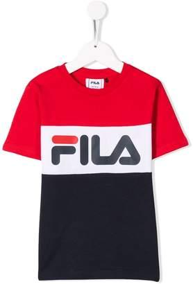 Fila Kids printed logo T-shirt