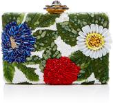 Oscar de la Renta Floral Embellished Clutch