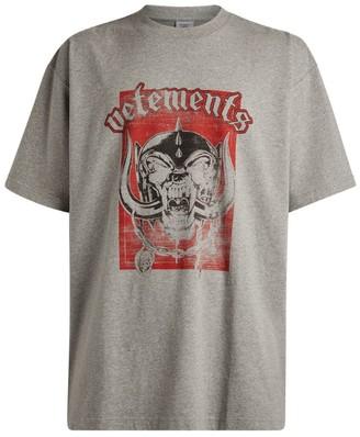 Vetements X Motorhead Oversized T-Shirt