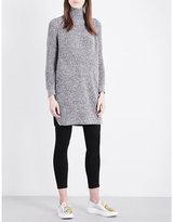 Topshop Longline knitted jumper
