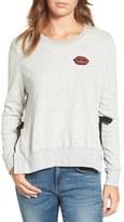 Pam & Gela Women's Lips Side Tie Pullover