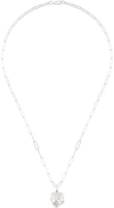 VICTORIA STRIGINI Lions Head oblong-chain necklace