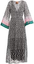 Missoni Open-knit V-neck dress