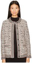 M Missoni Lurex Tweed Jacket Women's Coat