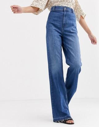 Free People Mindy rigid flared jeans