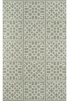 "Momeni Madcap Cottage By Palm Beach Lake Trail Handwoven Flatweave Green Indoor/Outdoor Area Rug Madcap Cottage by Rug Size: Rectangle 7'6"" x 9'6"""
