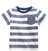 First Impressions Striped Cotton T-Shirt, Baby Boys, Created for Macy's