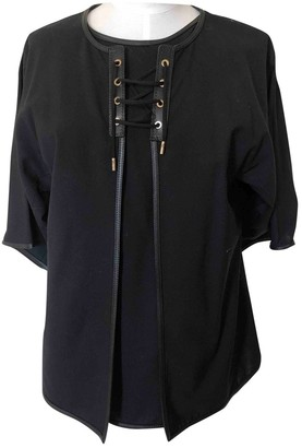 Salvatore Ferragamo Black Wool Top for Women