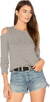 LnA Long Sleeve Impala Tee in Gray