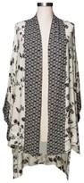 Merona Women's Plus Size Floral Kimono Jacket