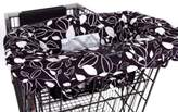 Balboa Baby Shopping Cartand High Chair Cover in Black & White Leaf