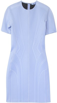 Thierry Mugler Multicolor Panel Dress in Blue