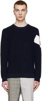Moncler Gamme Bleu Navy Crewneck Sweater