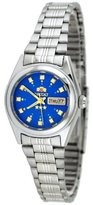 Orient #BNQ1X003L Women's Tri Star Blue Dial Automatic Watch
