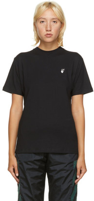 Off-White Black Flock Arrow T-Shirt