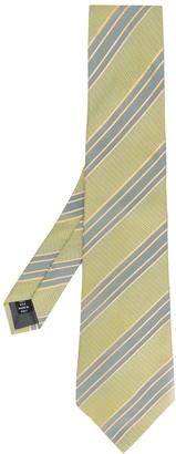 Gianfranco Ferré Pre Owned 1990 Diagonal Stripe Tie