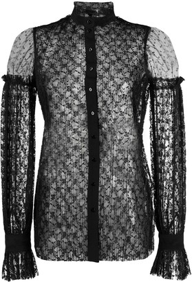 Wandering Floral Lace Blouse