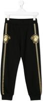 Versace Medusa print track pants