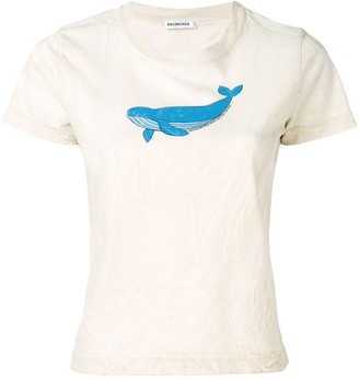 Balenciaga whale T-shirt
