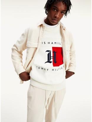 Tommy Hilfiger Lewis Hamilton Crew Neck Logo Sweater