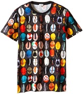 Paul Smith Caps Printed Short Sleeves Tee Shirt Boy's T Shirt