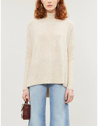 Selfridges Turtleneck stretch-knit jumper