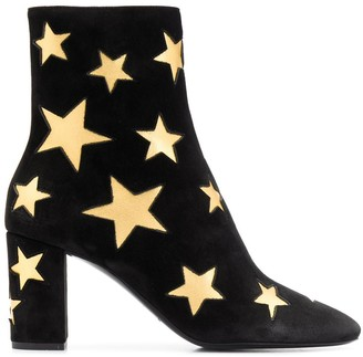 Saint Laurent Lou starry 75 boots