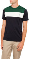 Fred Perry Colour Block Panel T-Shirt