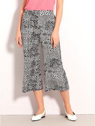 M&Co Animal print culottes