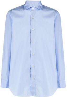 Finamore 1925 Napoli Alumo long-sleeved shirt