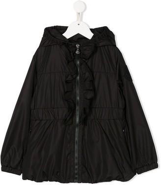 Moncler Enfant Zip-Through Hooded Jacket